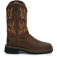 Womens Justin WKL4682 Western Square Safety