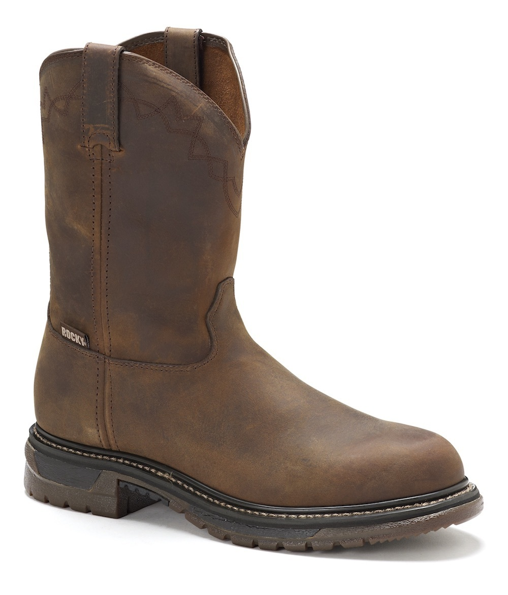 026e7ebbc76 Mens Rocky 6732 Safety Toe Western Boot | Free Shipping & Afterpay