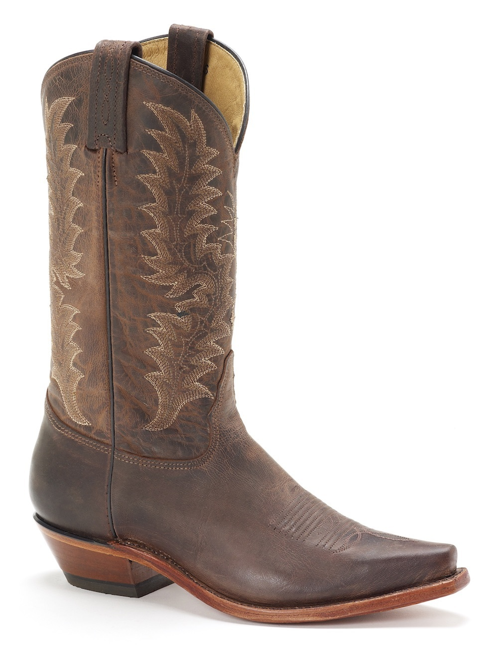 Womens Tony Lama Chocolate Saigets