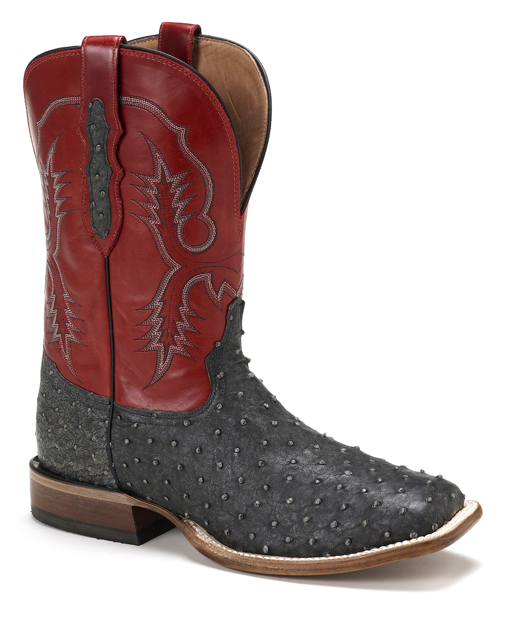 Mens Tony Lama 6092 Ostrich Boot