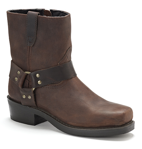 Mens Dingo  Rev-Up DI19094 Short Harness Boot