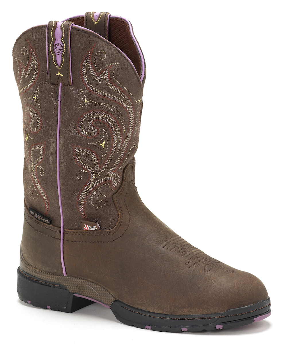 Womens Justin GSL9040 Waterproof Cowgirl