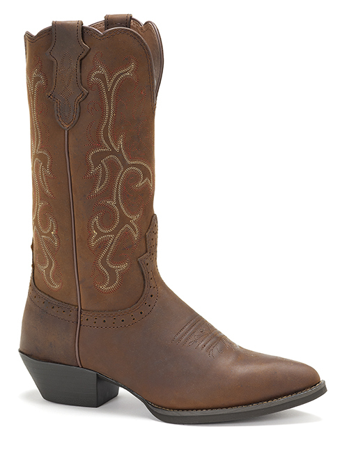 Womens Justin L2551 Stampede Western Boot