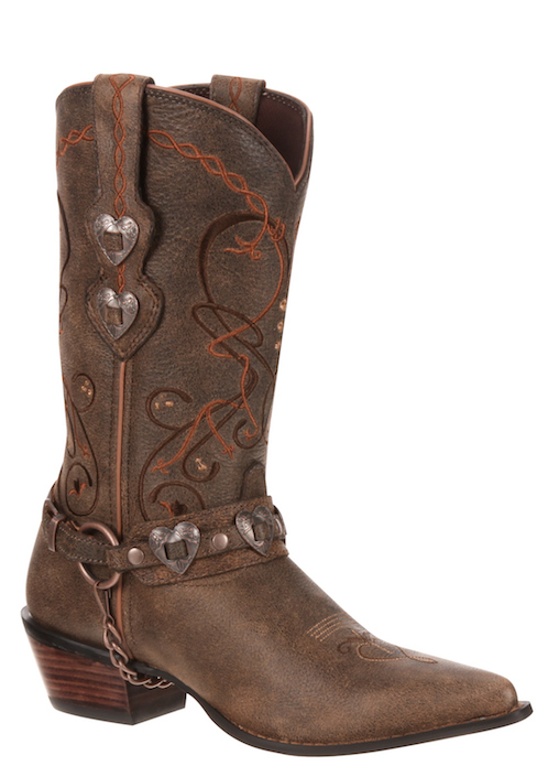 Womens Durango RD4155 Tan Western Boot