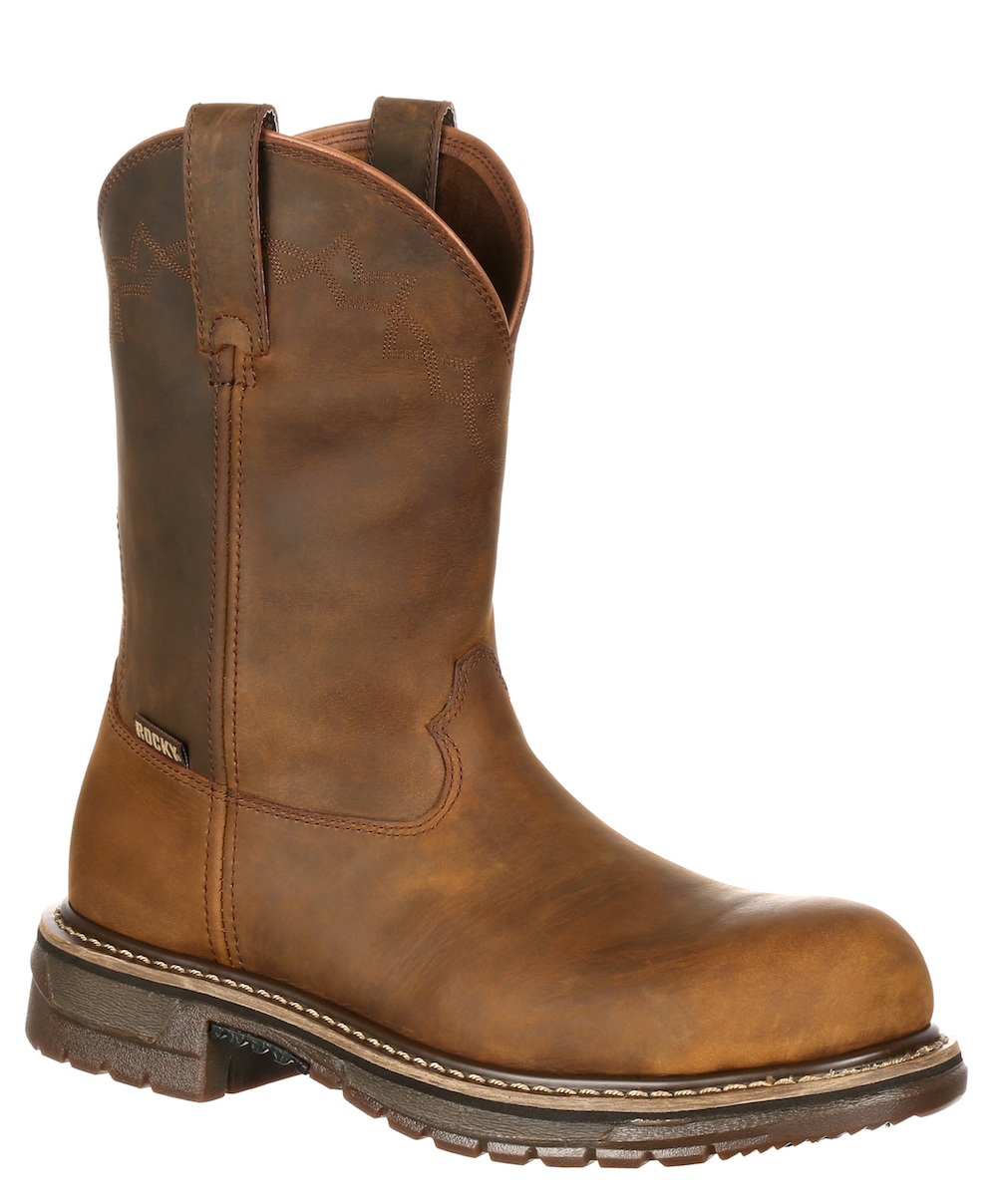 Mens Rocky RKW0170 Safety Western Work Boot