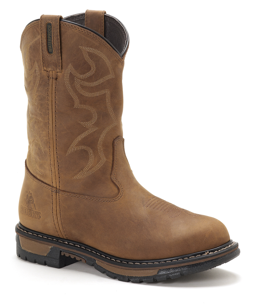 Womens Rocky RKYW082 Waterproof Cowboy Boot