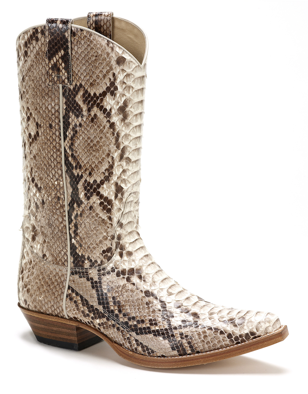 Mens Sendra 2966 Genuine Snakeskin Boot