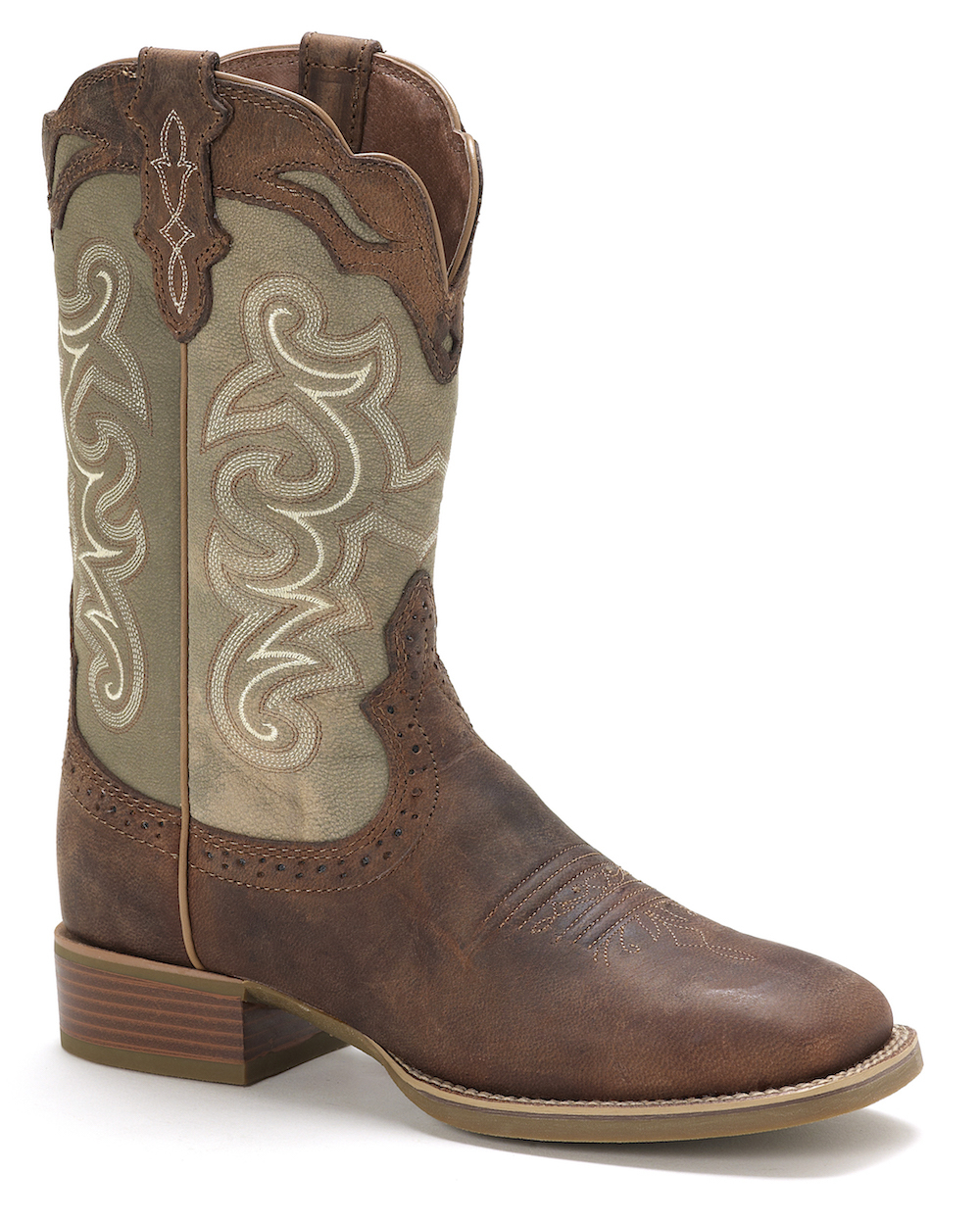 Womens Justin SVL7211 Square Toe Cowboy Boot