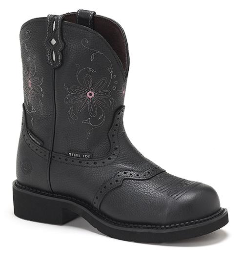 Justin Womens Waterproof Work Boots